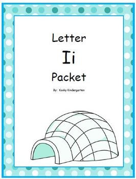 Letter Ii Phonics and Writing Pack