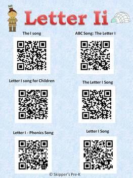 Letter Ii QR code Songs