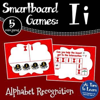 Letter Ii Smartboard Games (5 mini games) (Smartboard/Promethean Board)