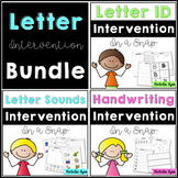 Letter Intervention and RtI In a Snap Bundle
