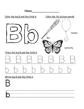 Letter Introduction Activity Pages