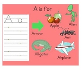 Letter Introduction SmartBoard