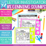 Beginning Sounds Worksheets | No Prep Pages