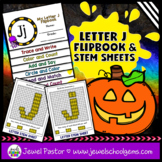 Letter J Alphabet Flip Book (Alphabet Interactive Notebook