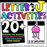 Letter J Activities   Alphabet   Letter Recognition, Formation, and Sounds