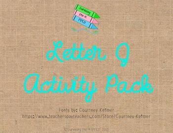 Letter J Activity Pack