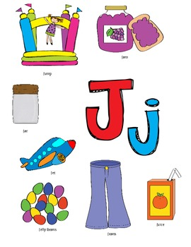 Letter J Activity Packet