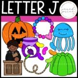 Letter J Alphabet Clipart
