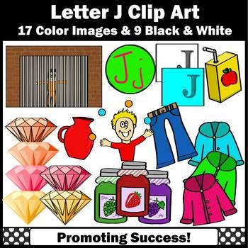 Letter J, Alphabet Letters Clip Art, Letter Sounds Clipart SPS