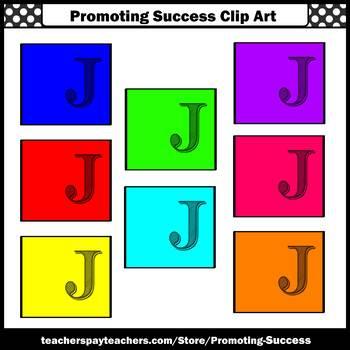 Letter J Clipart, Alphabet Clip Art, Letter Sounds SPS
