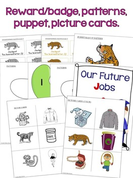 Letter J Unit - Differentiated Letter Writing Pages and Activities