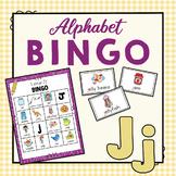 Letter J Bingo Game
