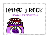 Letter J Book: Handwriting Practice