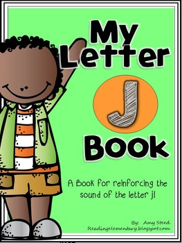 Letter J Book of Beginning Sounds-Emergent Reader w/Running Record-CCSS Aligned