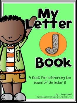 Letter J Book of Beginning Sounds-Emergent Reader w/Runnin