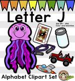 Alphabet Clip Art: Letter J Phonics Clipart Set - Clip Art