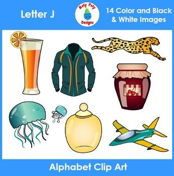 Letter J Clip Art Set