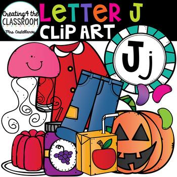 Letter J Clipart {Alphabet Clip art}