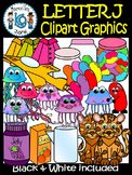 Letter J- Clipart Graphics- Commercial & Personal Use