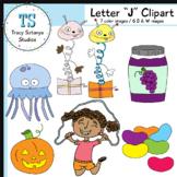 "Letter ""J"" Clipart Set {Tracy Sztanya Studios}"