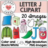 Letter J Alphabet Clipart by Clipart That Cares