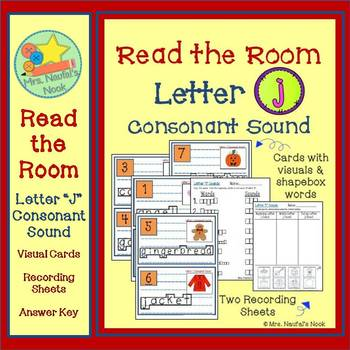 Alphabet Read the Room Letter J