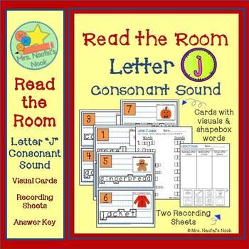 Letter J Consonant Sound Read the Room