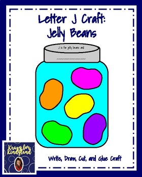 Letter J Craft: Jelly Beans