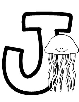 Letter J - FREE