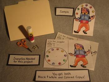 Letter J Fun Alphabet Project
