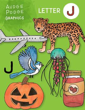 Letter J Graphics