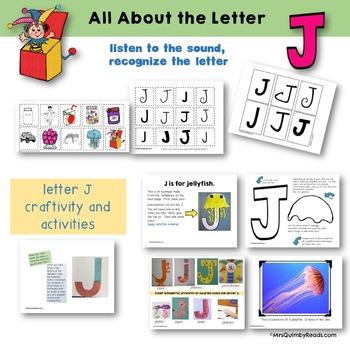 Letter J | Learning the  Alphabet | Preschool | Phonics