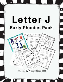 Letter J: Phonics Pack