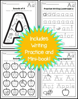 FREE Letter A Practice Printables