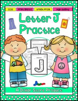 Letter J Practice Printables