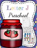 Letter J Preschool