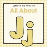 Letter J- Preschool Letter of the Week Unit
