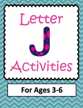 Letter J  Activities- 46 Pages! {Common Core}