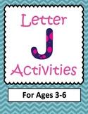 Letter J  Activities- 46 Pages! {Common Core}