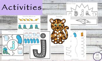 Letter J Printable Pack