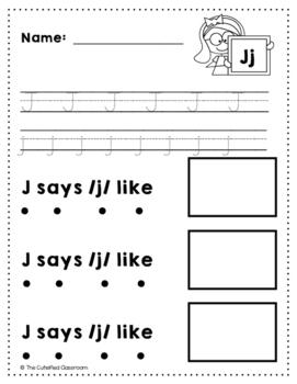 Letter J Review