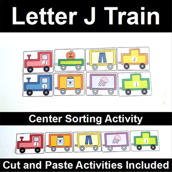 Letter J Train