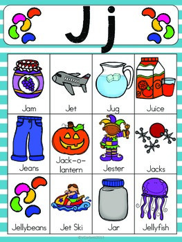 2 letter words with j letter j vocabulary cards by the tutu teachers 20031 | original 2155383 2