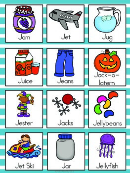 j letter words letter j vocabulary cards by the tutu teachers 22619 | original 2155383 3