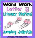 Letter J Word Work Literacy Station Pack