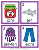 Letter J Words Write the Room Activity