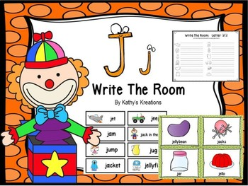 Letter J Write The Room