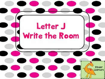 Write the Room Letter J