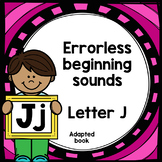 Letter J adapted book errorless learning
