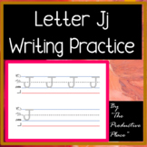 FUN Letter J j writing formation practice